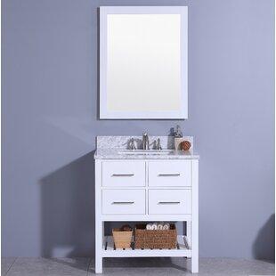Buying Rosemont 31 Single Bathroom Vanity Set with Mirror ByBreakwater Bay