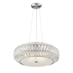 Rosdorf Park Astor 9-Light Crystal Chandelier