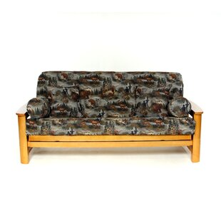 Gone Hunting Box Cushion Futon Slipcover by Lifestyle Covers Savings