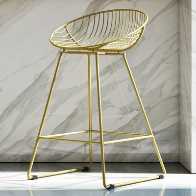 Magnificent Cosmoliving By Cosmopolitan Ellis 245 Bar Stool Color Dailytribune Chair Design For Home Dailytribuneorg