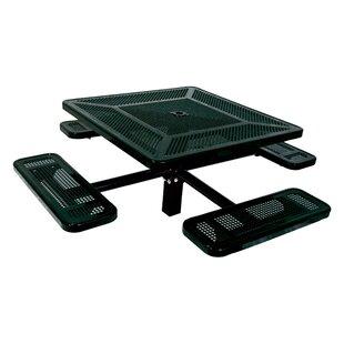 Char-Log Metal Picnic Table by Ultra Play