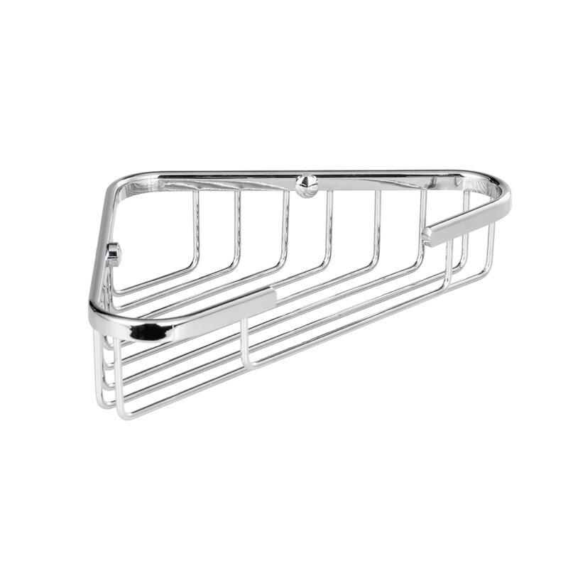 Rebrilliant Bilger Corner Wire Shower Basket   Wayfair