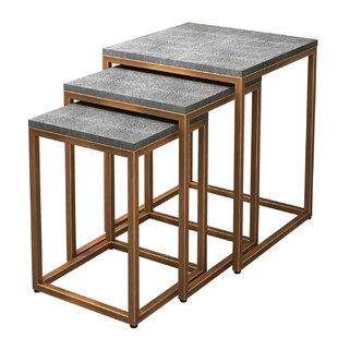 Modern 3 Nesting Tables Allmodern