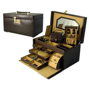 Compare & Buy Croco Grain Jewelry Boxes By Budd Leather
