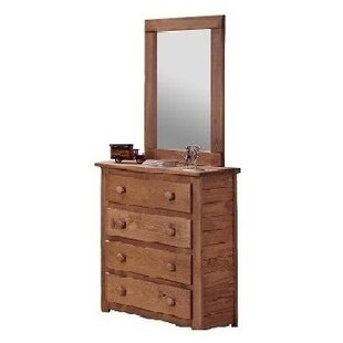 Top Cheung 4 Drawer Chest with Mirror by Harriet Bee Reviews (2019) & Buyer's Guide