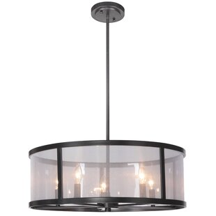 Charlton Home Elmer 5-Light Drum Chandelier