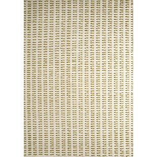 Savings Moore White/Green Contemporary Area Rug By Latitude Run