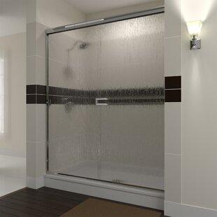 60 x 76 Bypass Semi-Frameless Shower Door by Arizona Shower Door