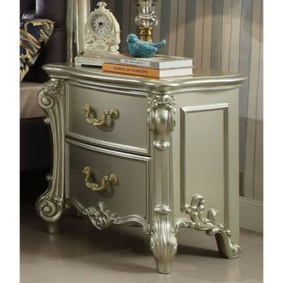 Sumas 2 Drawer Nightstand