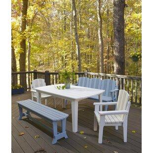 Uwharrie Chair Carolina Preserves Dining Table