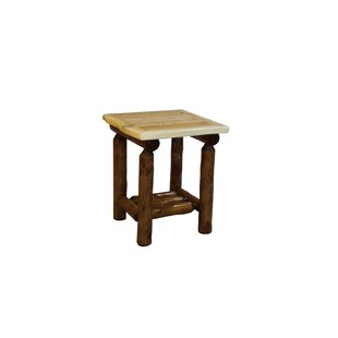 Goldberg Cedar End Table