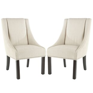 Savings Garnica Upholstered Dining Chair (Set of 2) by Darby Home Co Reviews (2019) & Buyer's Guide