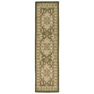 Brasstown Green Indoor/Outdoor Area Rug By Charlton Home