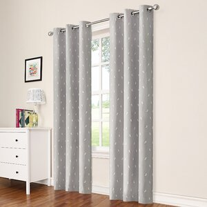 Garris Puppy Love Blackout Rod Pocket Single Curtain Panel