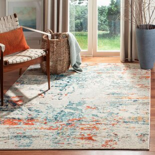 Abstract Orange Area Rugs You Ll Love In 2021 Wayfair