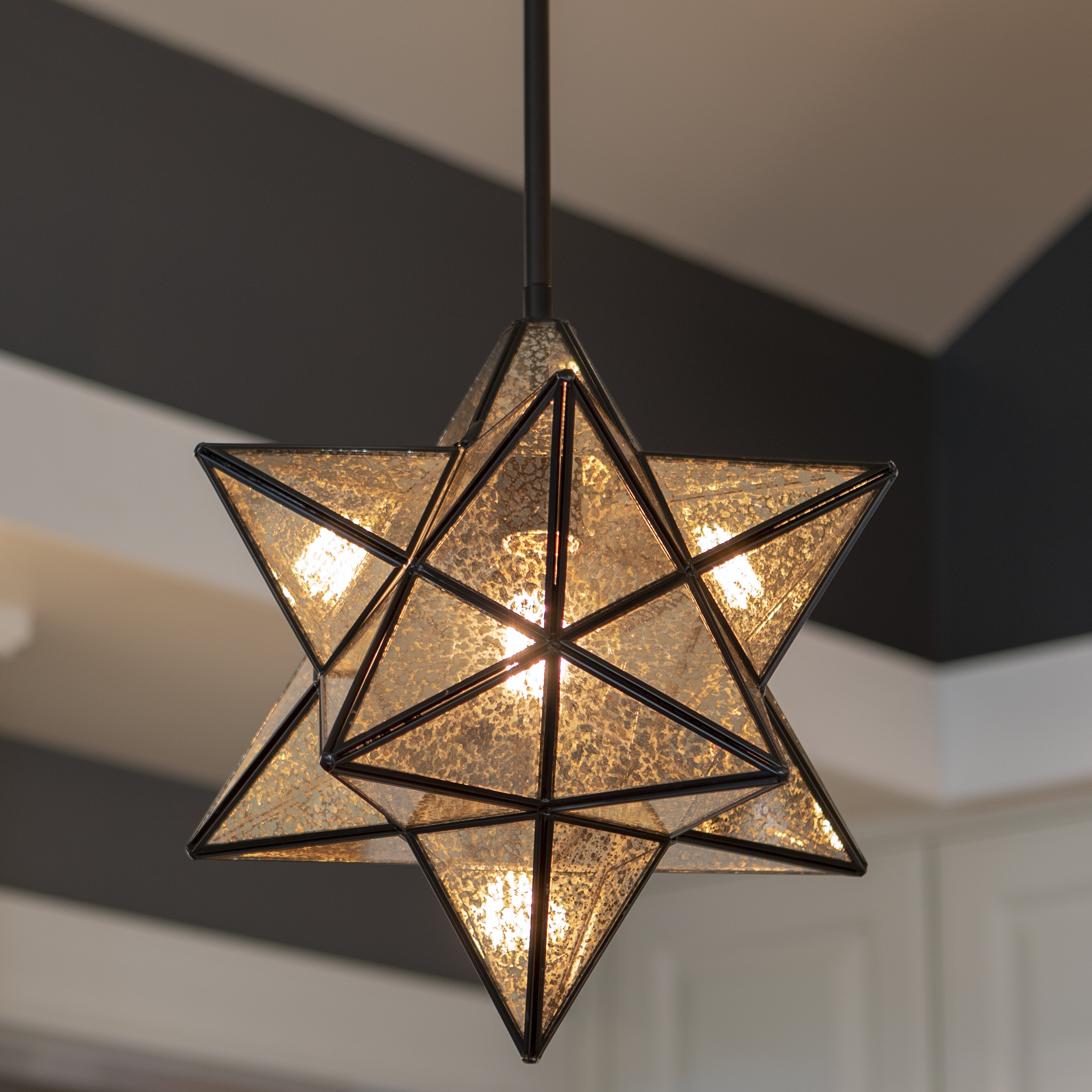Berwick 1 Light Single Star Pendant