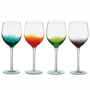 Anton Studio Design 4 Piece Fizz Wine Glass Set