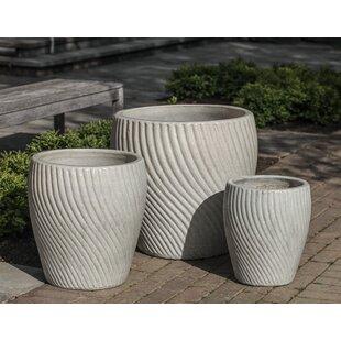 Pettiford 3-Piece Terracotta Pot Planter Set
