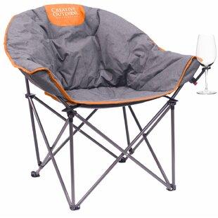 Freeport Park Joselyn Moon Wine Folding Camping Chair