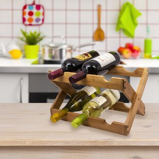 6 Bottle Tabletop Wine Rack by Sorbus