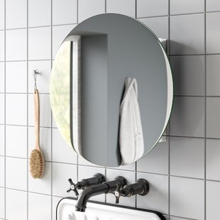 Fife 50cm X 50cm Surface Mount Mirror Cabinet By Croydex