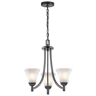 Huntington 3-Light Shaded Chandelier by Alcott Hill