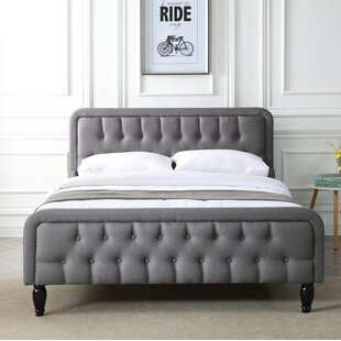 Heatherstone Upholstered Bed Frame By Astoria Grand