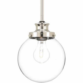 Joss Main Shehan 1 Light Single Globe Pendant Reviews Wayfair