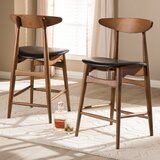 Dinh Bar & Counter Stool (Set of 2) by AllModern
