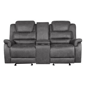 Natalie Reclining Loveseat by 17 Stories