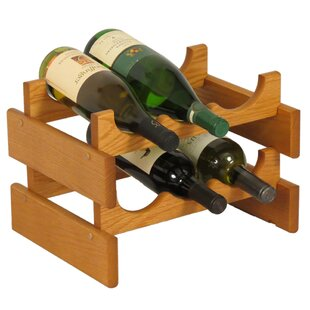 Dakota 6 Bottle Tabletop Wine Rack by Woo..