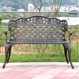 Stallings Steel Garden Bench