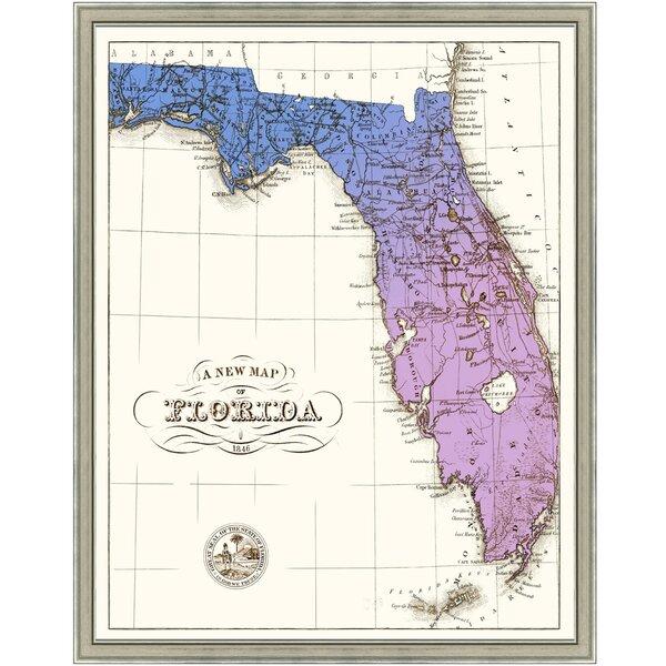 Smith Co Gradient Florida Framed Graphic Art Wayfair