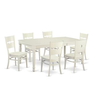 Carmel 7 Piece Dining Set August Grove