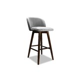 Lynne Swivel Bar & Counter Stool by Ivy Bronx