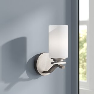 Mcgann 1-Light Sconce by Ebern Designs