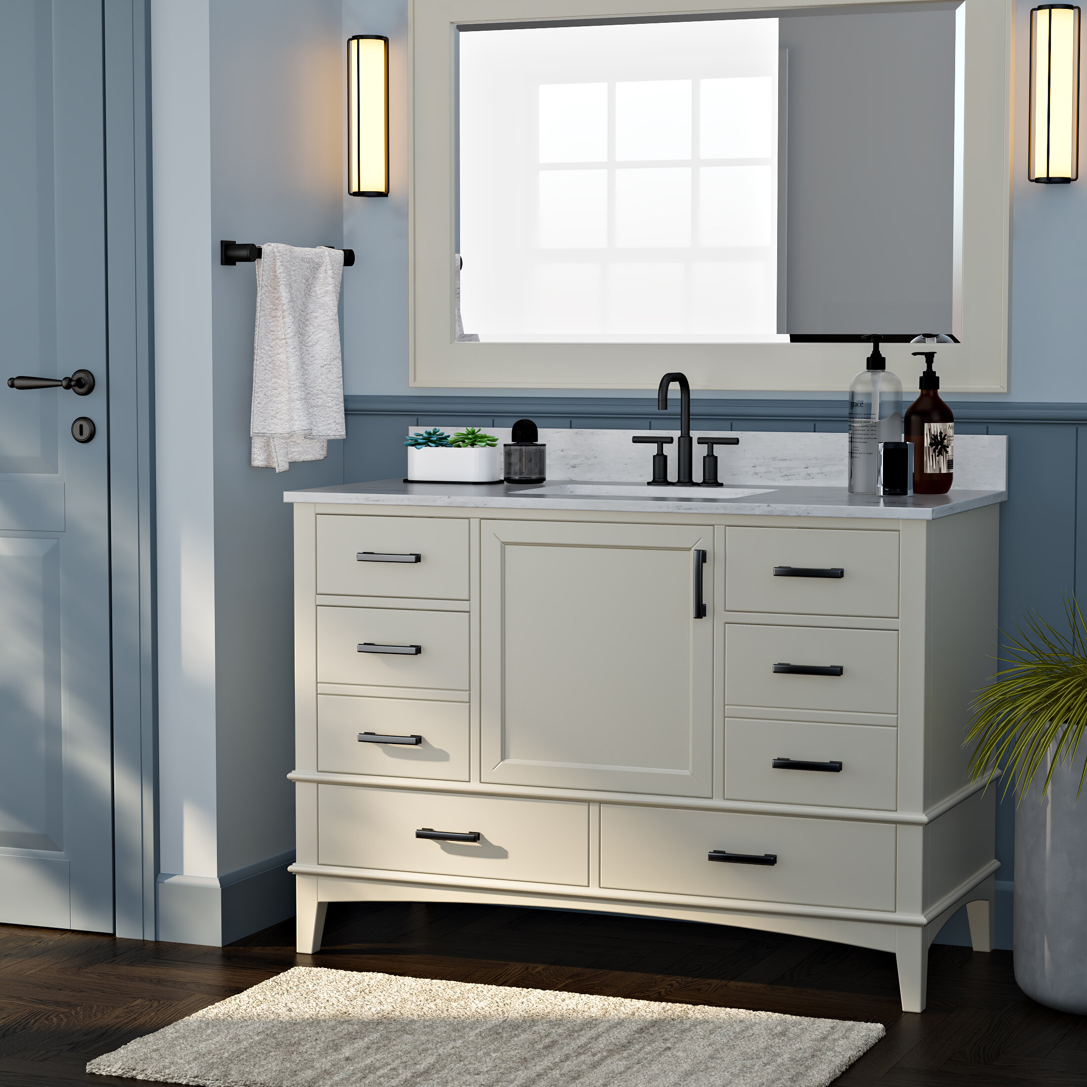 Red Barrel Studio Aleeshia 48 Single Bathroom Vanity Set Wayfair