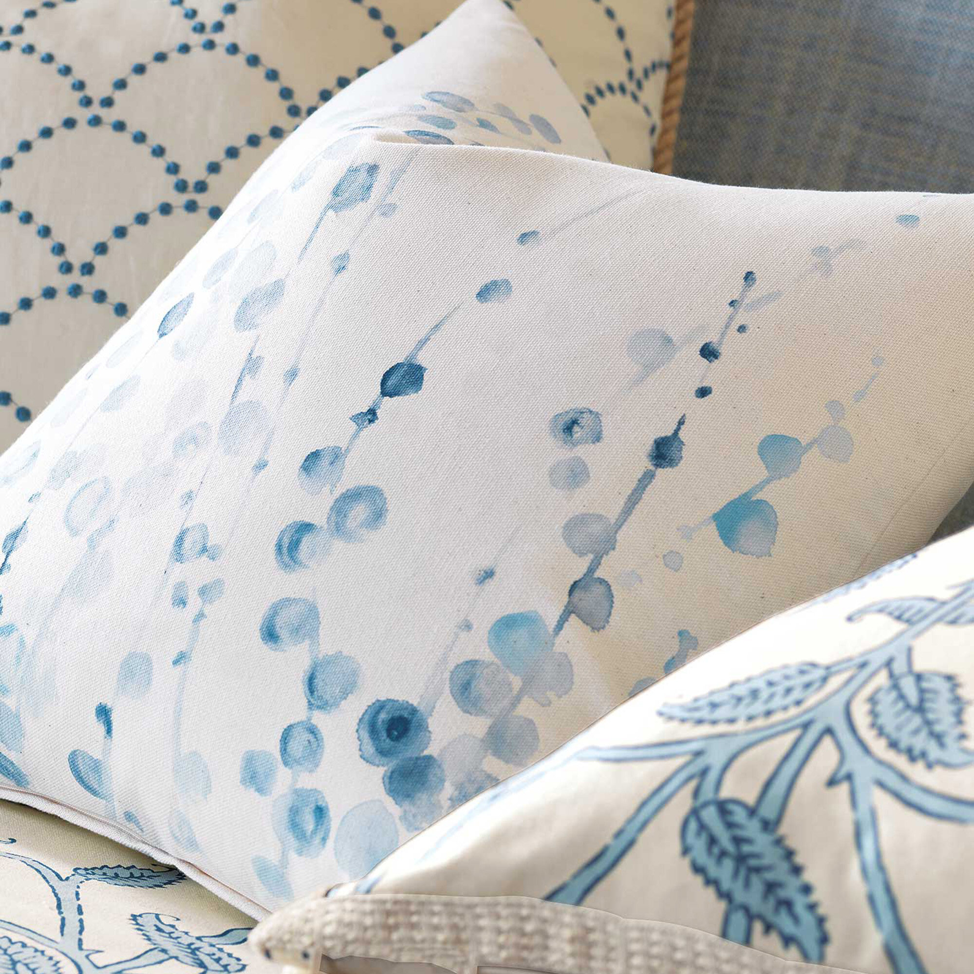 Eastern Accents Badu Adler Hand Painted Throw Pillow Wayfair