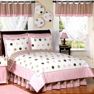 Mod Dots Pink Comforter Set