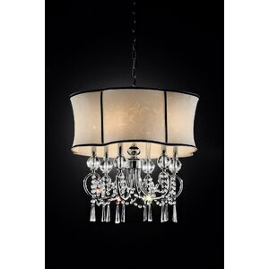 Brookwood 6-Light Drum Chandelier