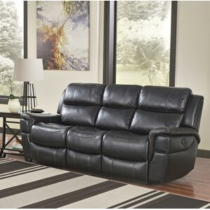 Twomey River Power Reclining Sofa by Red Bar..