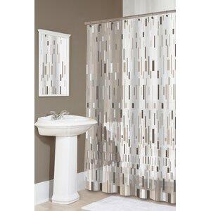 Modern Geometric Shower Curtains | AllModern