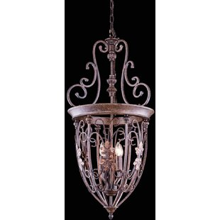 Fleur De Lis Living Hosteen 6-Light Urn P..