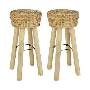 Strange 76Cm Bar Stool Set Of 2 Machost Co Dining Chair Design Ideas Machostcouk
