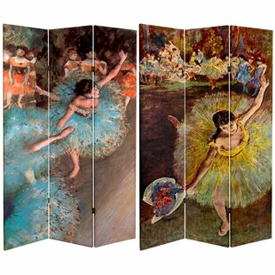 Pitre 3 Panel Room Divider by Winston Porter