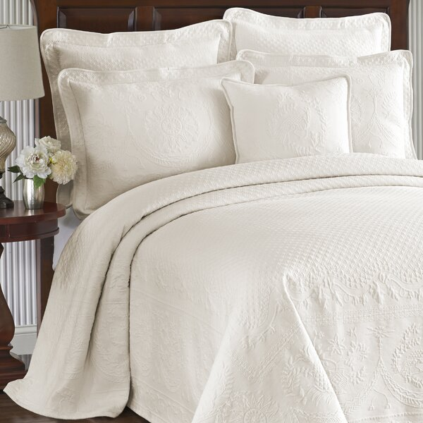 Oversized White King Bedspread Wayfair