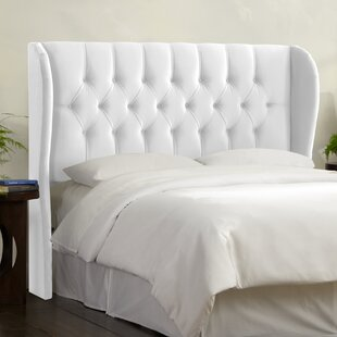 Selma Upholstered Wingback Headboard by Darby Home Co