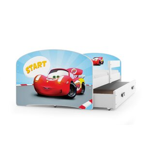 Luki European Toddler Car Bed With Drawer By BMS Group