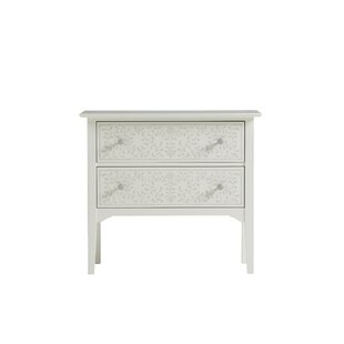 Stenciled 2 Drawer Chest by YoungHouseLove