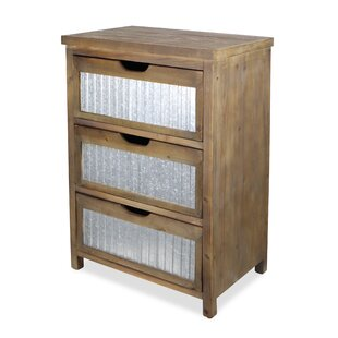 Comparison 3 Drawer Accent Chest By Cheungs
